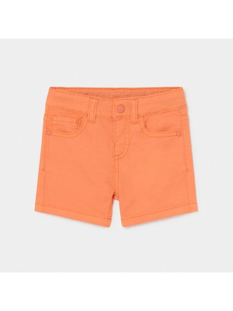 Mayoral Apricot Basic Twill Shorts