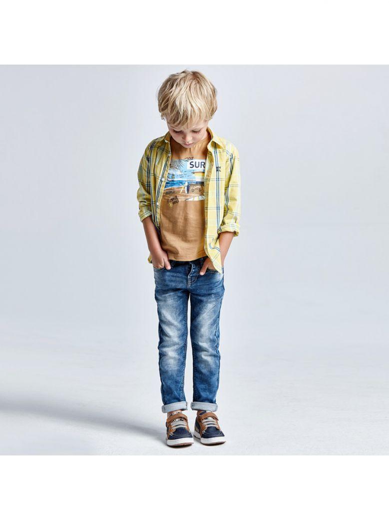Mayoral Medium Denim Slim Fit Soft Denim Jeans