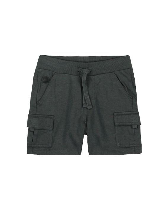 Boboli Dark Grey Bermuda Shorts