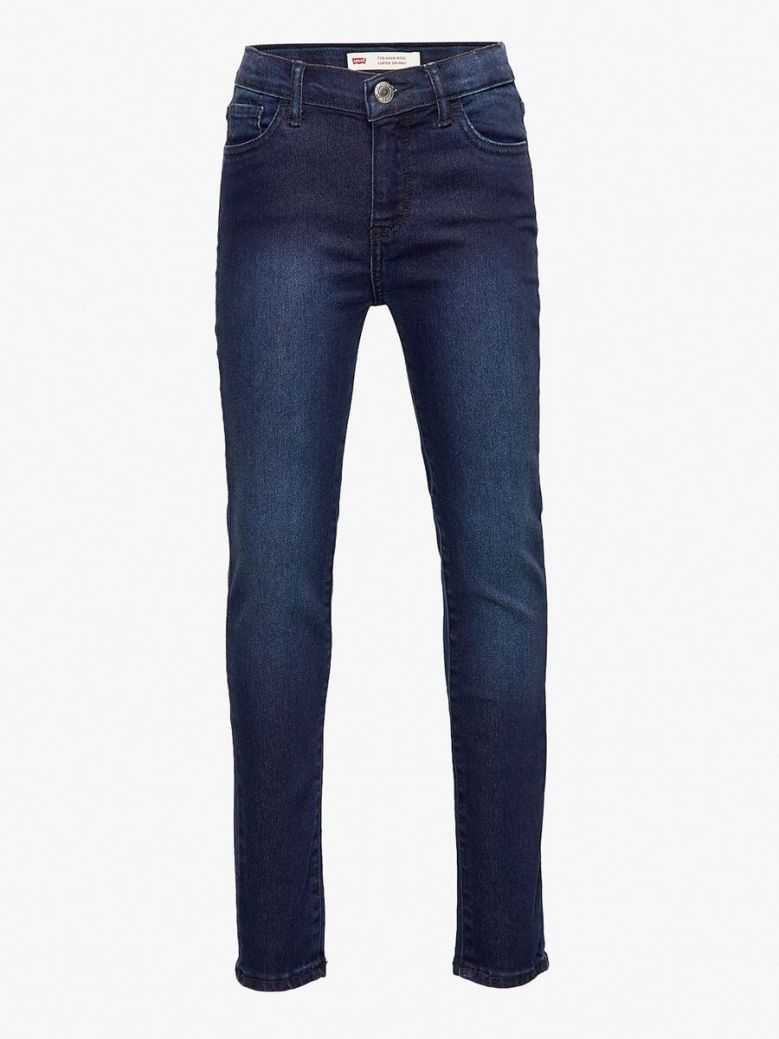 Levis Denim Night Bird High Rise Super Skinny Jeans