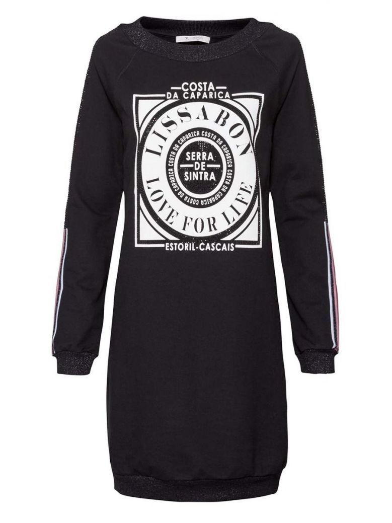 Monari Black Jumper Dress