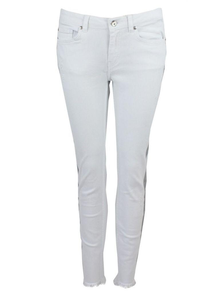 Monari White Skinny Jeans