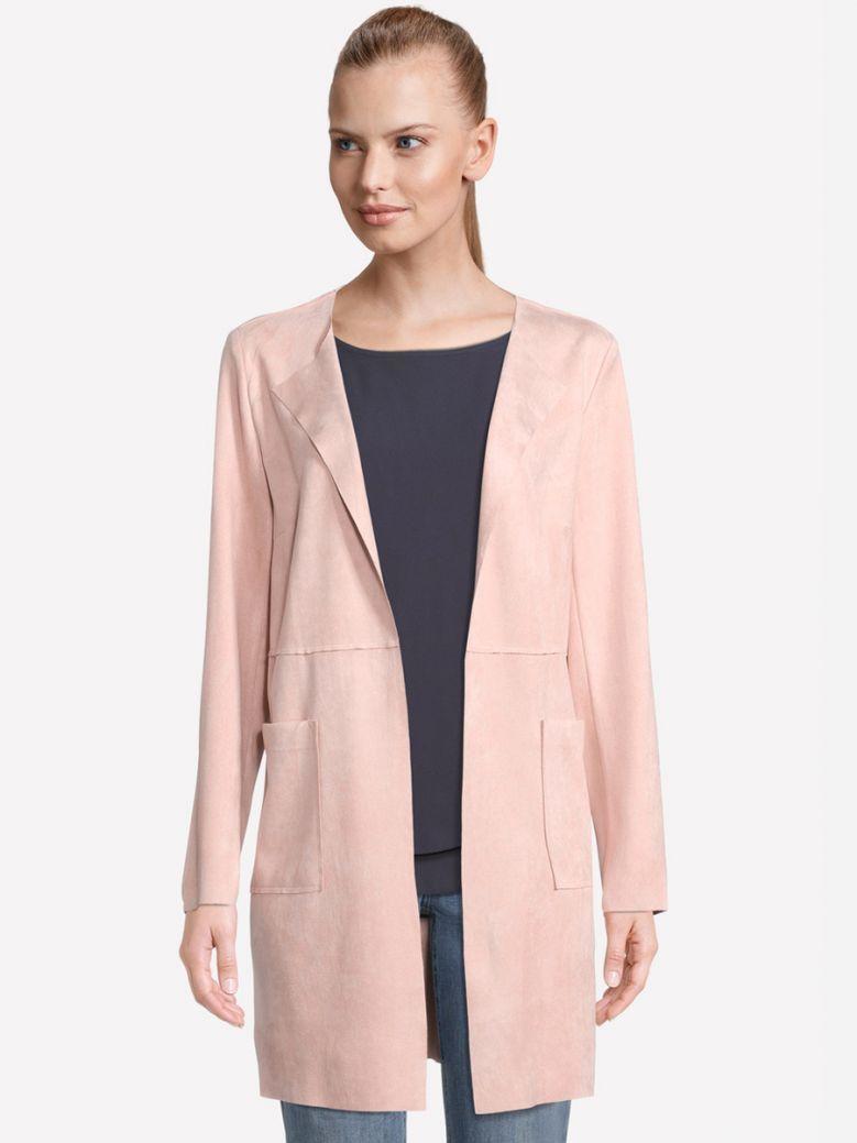 Betty Barclay Pink Longline Blazer