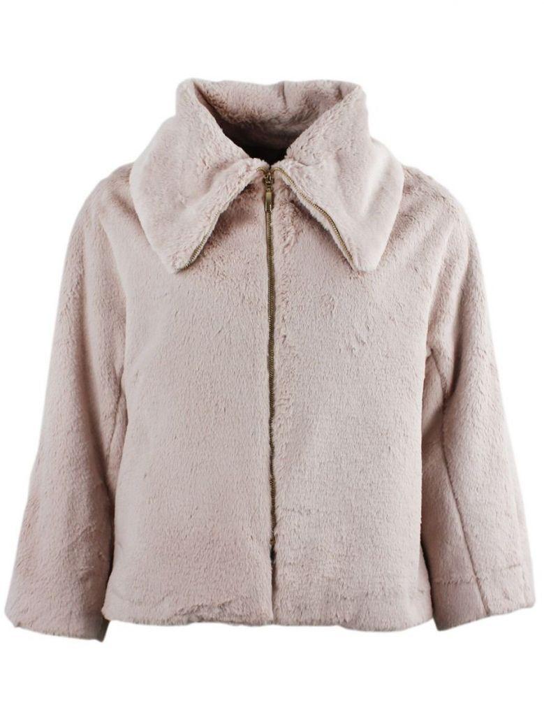 Arggido Rose Short Faux Fur Jacket