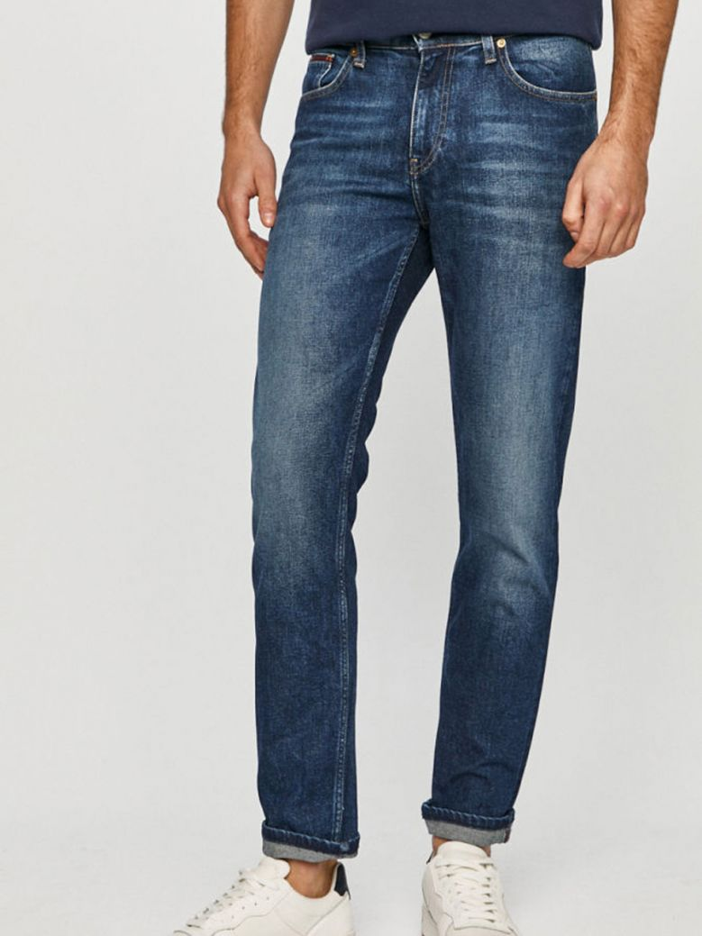 Tommy Jeans Mens Ryan Relaxed Straight Jeans