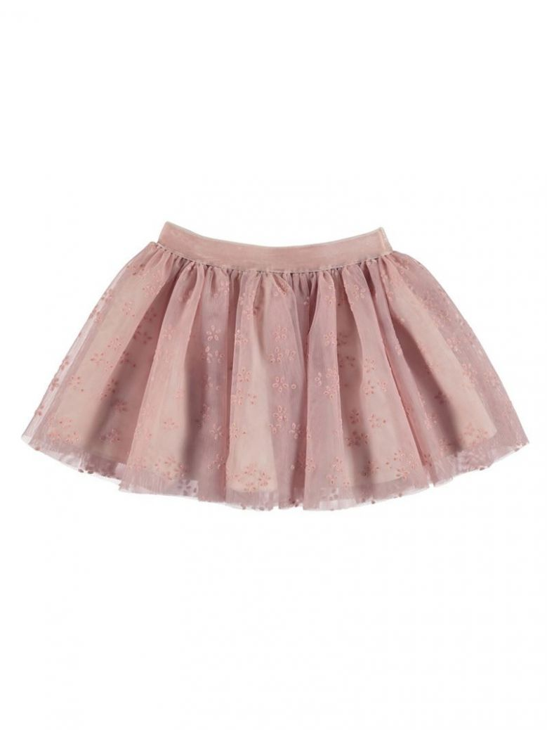 Mayoral Nude Tulle Skirt