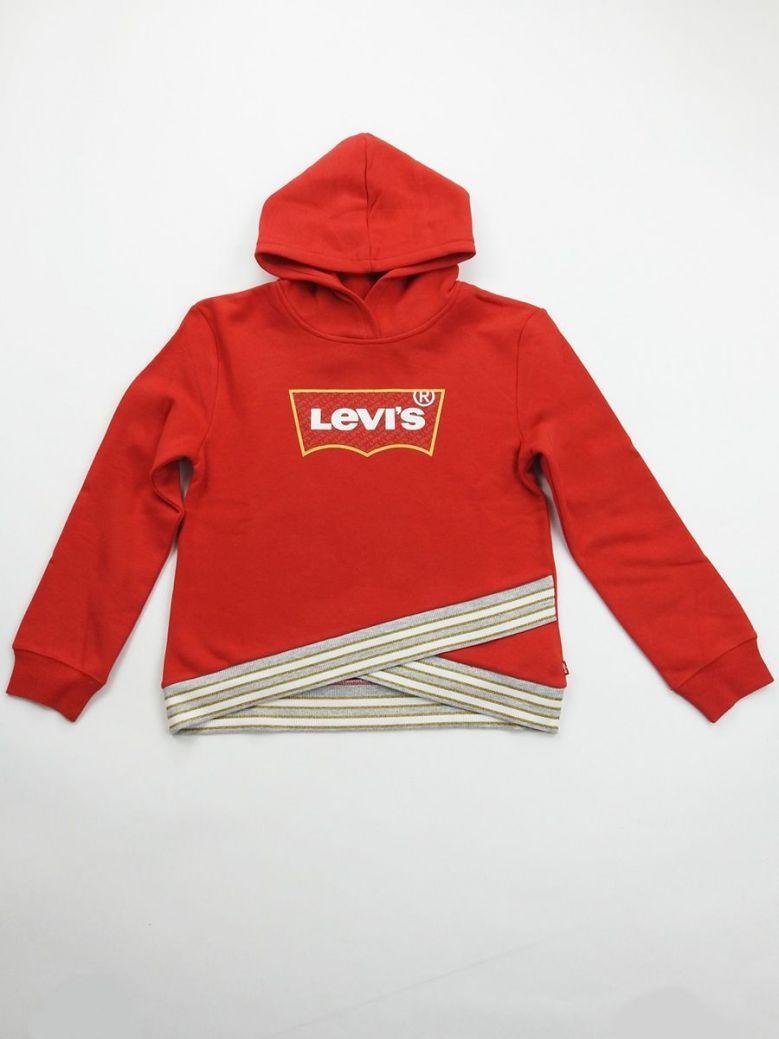 Levis Super Red Logo Hoody