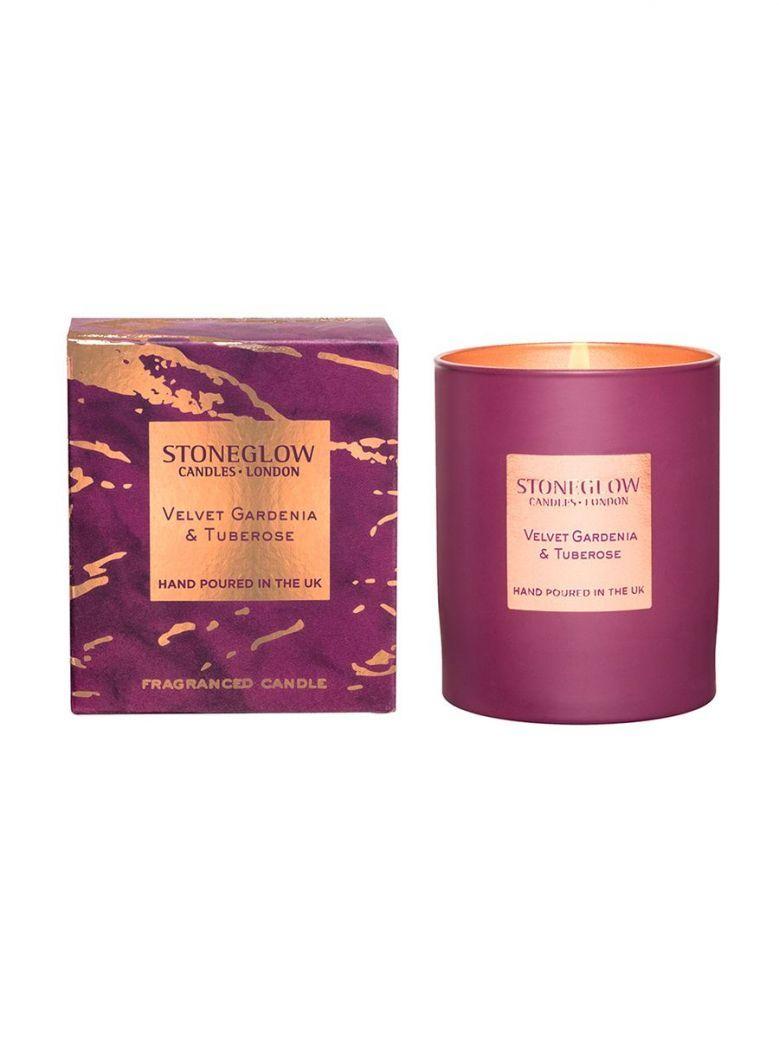 Stoneglow Luna Velvet Gardenia & Tuberose Tumbler