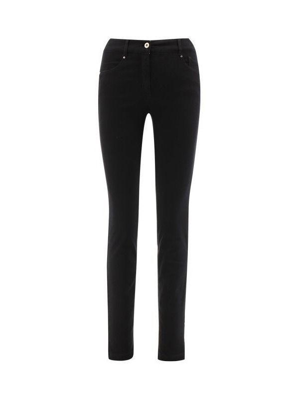 Robell Black Slim Fit Jeans (Style: Elena)