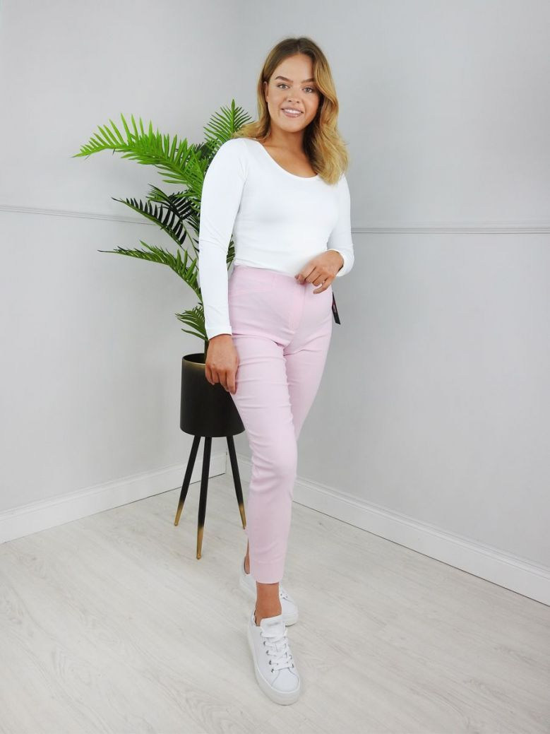 Robell Soft Rose Super Slim Fit Trousers (Style: Rose 09)