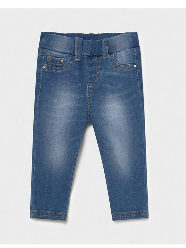 Mayoral Baby Medium Soft Denim Skinny Jeans