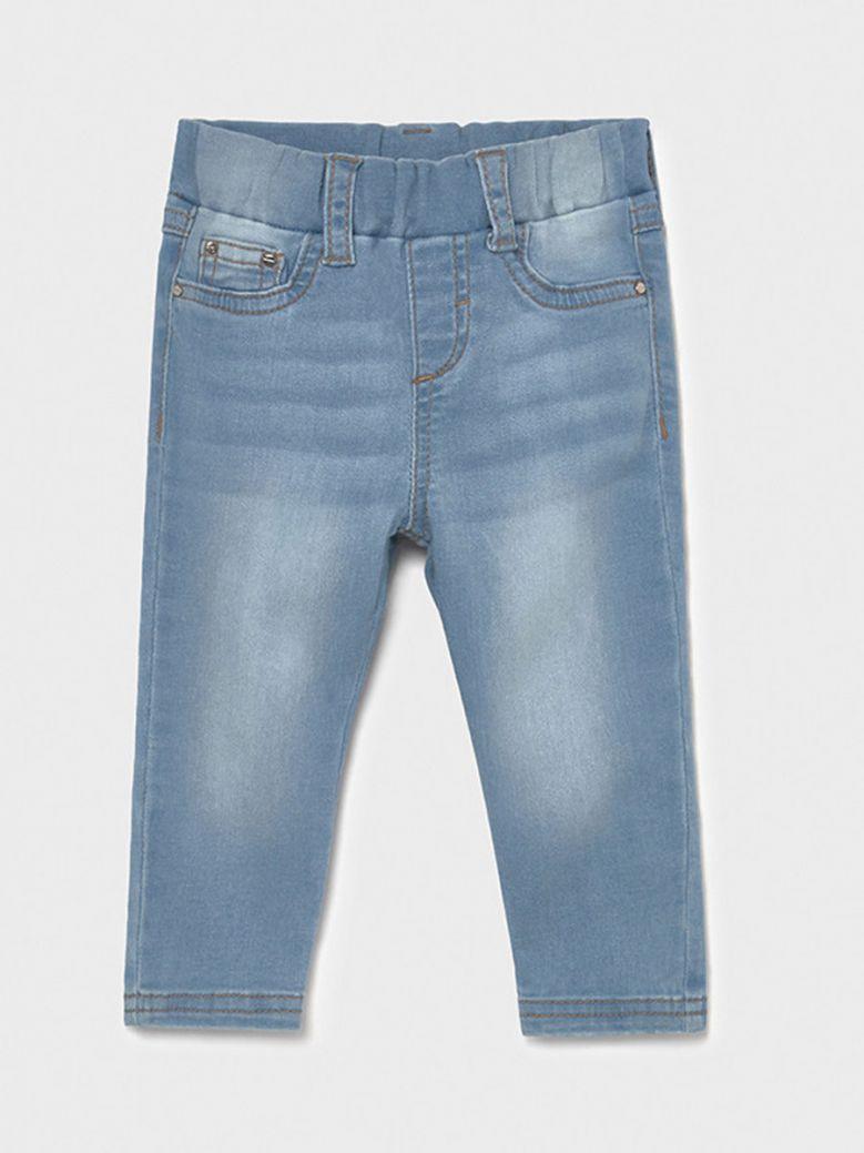 Mayoral Baby Light Soft Denim Skinny Jeans