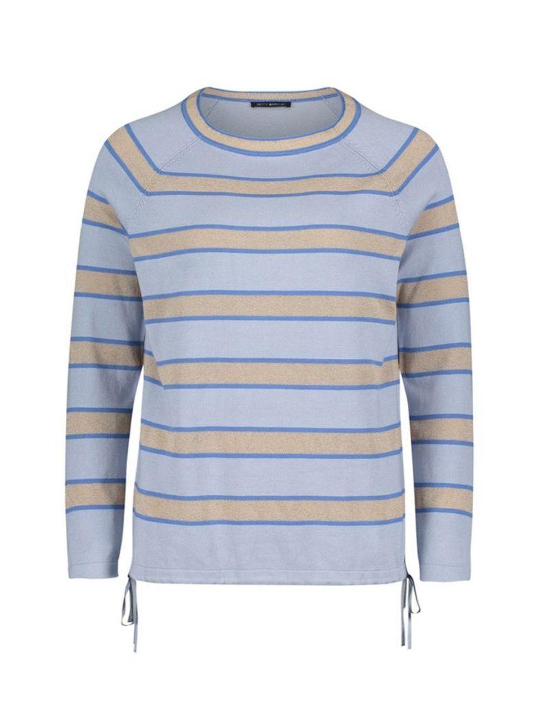 Betty Barclay Blue Stripe Fine Knit Jumper