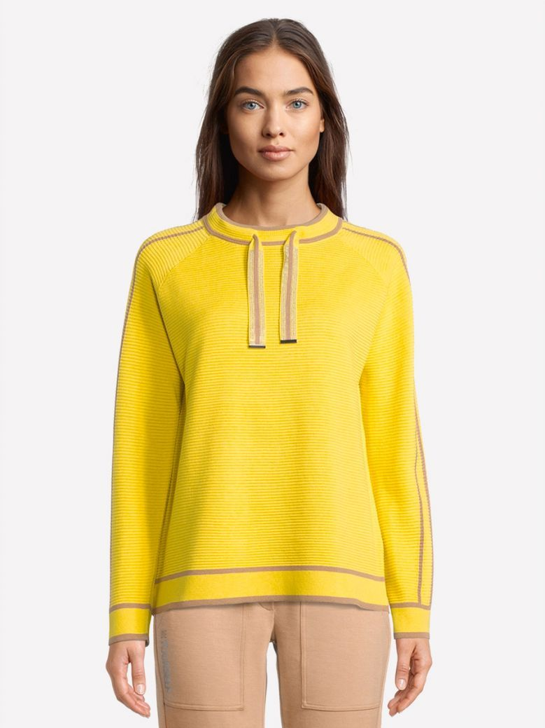 Betty Barclay Yellow Knitted Top