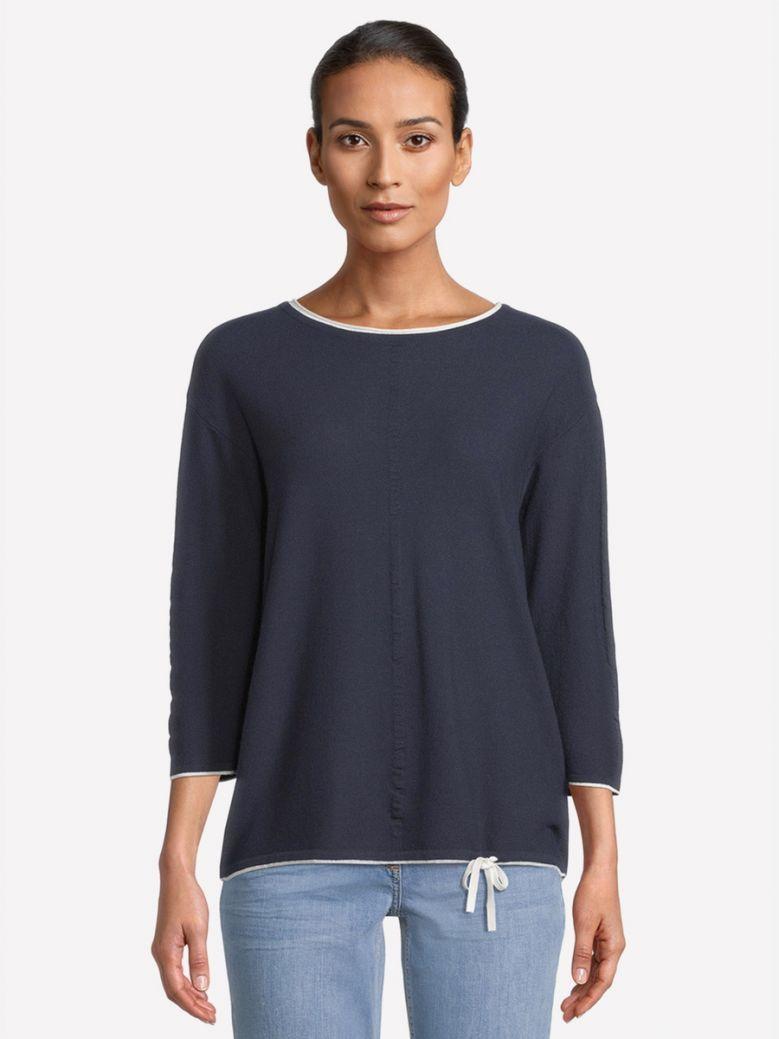 Betty Barclay Navy Fine Knit Top