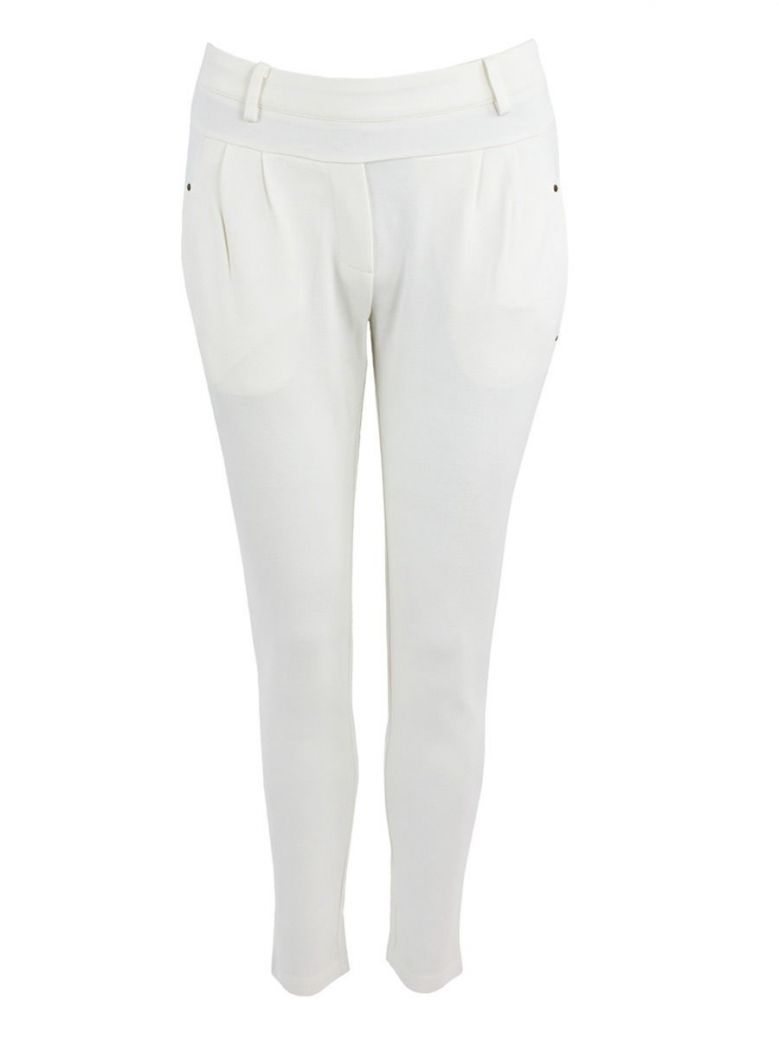 iSay Broken White Noa Trousers