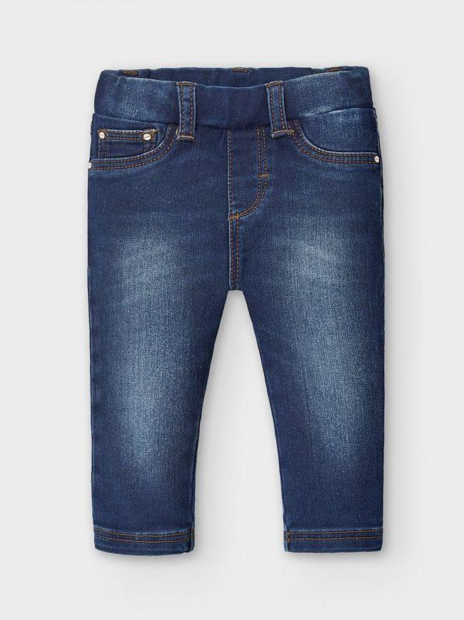 Mayoral Dark Denim Fade Skinny Jeans