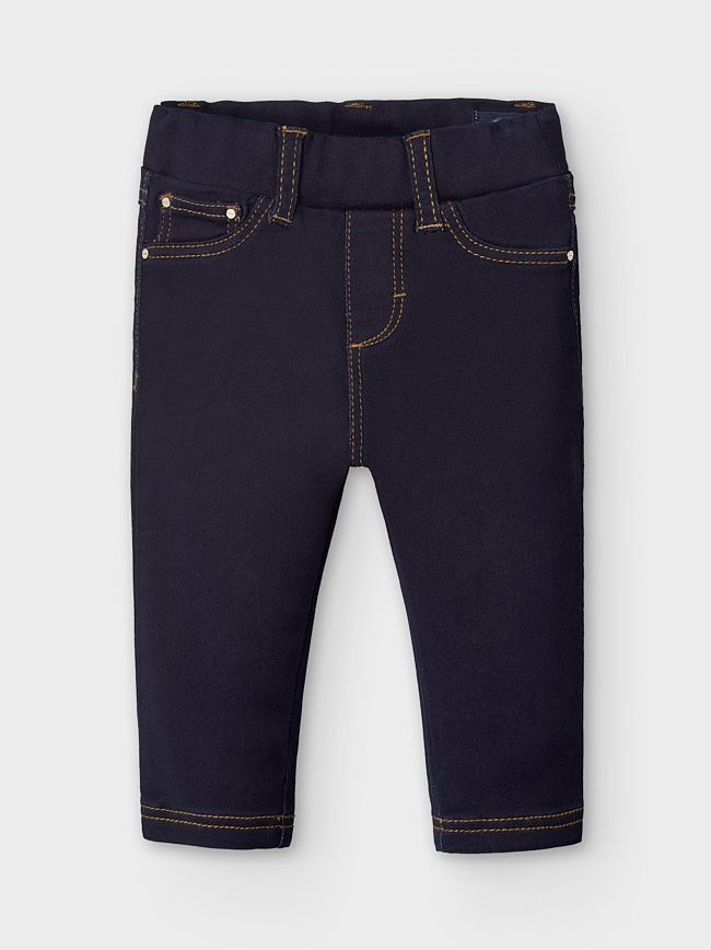 Mayoral Super Dark Denim Skinny Jeans