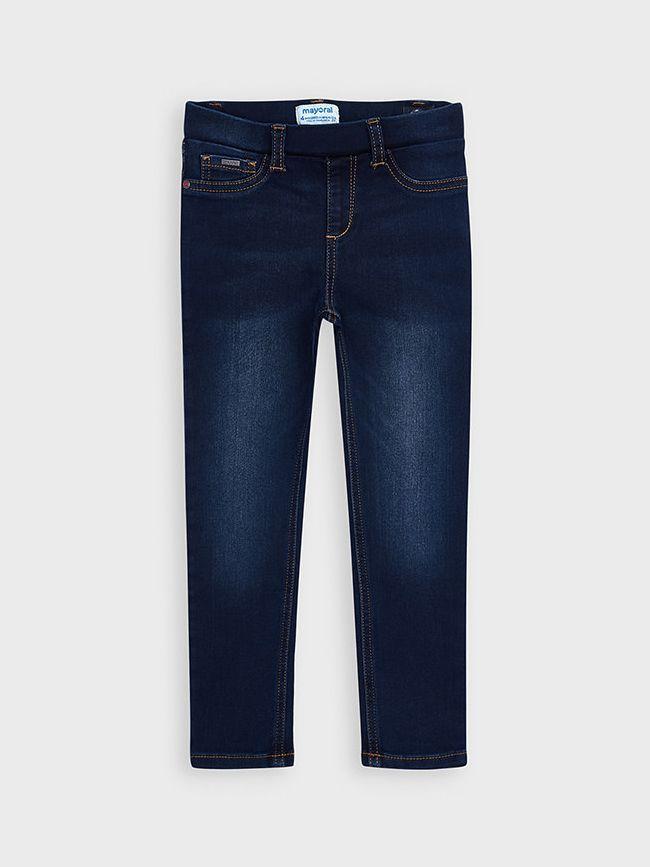 Mayoral Dark Denim Skinny Jeans