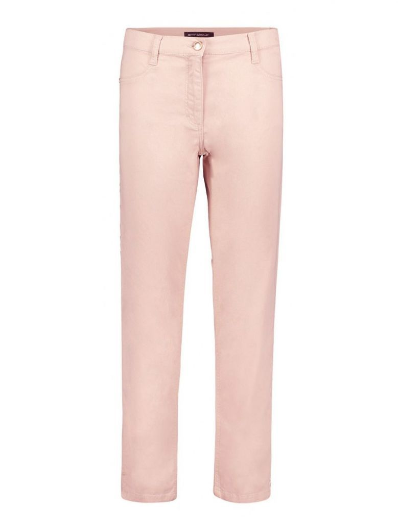 Betty Barclay Pink Mid Rise Slim Fit Jeans