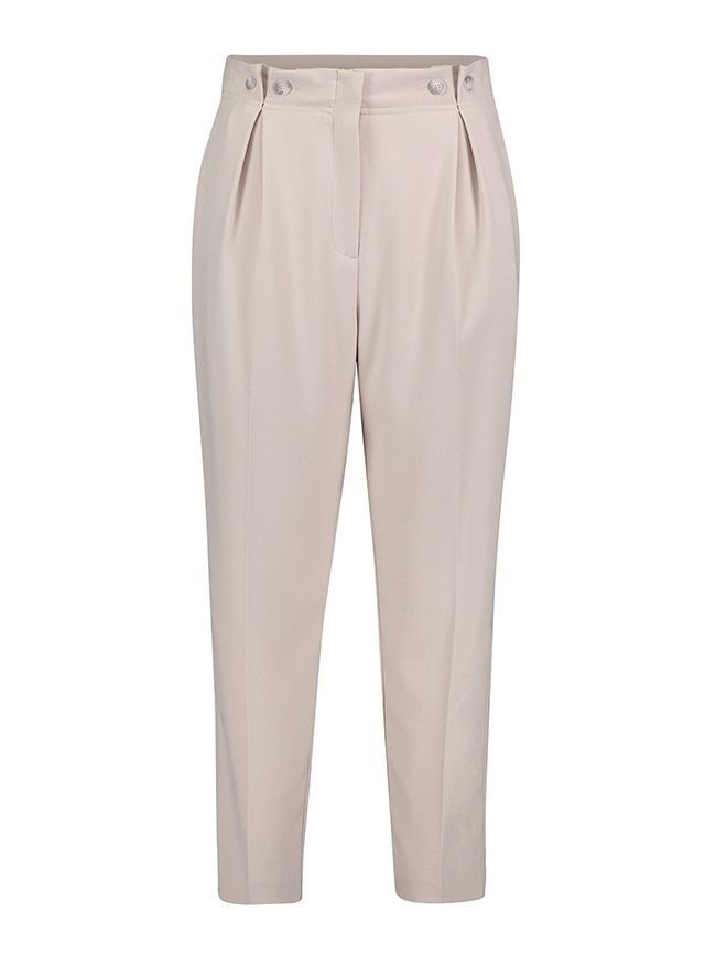 Betty Barclay Cream Straight Leg Trousers