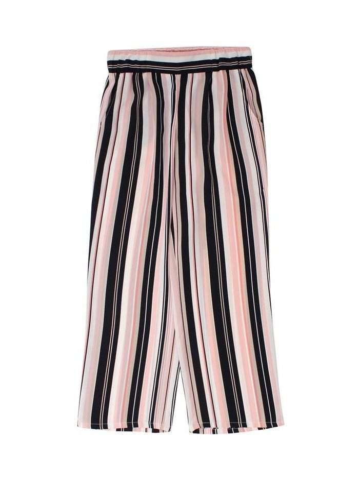 Betty Barclay Multi Striped Elasticated Trousers