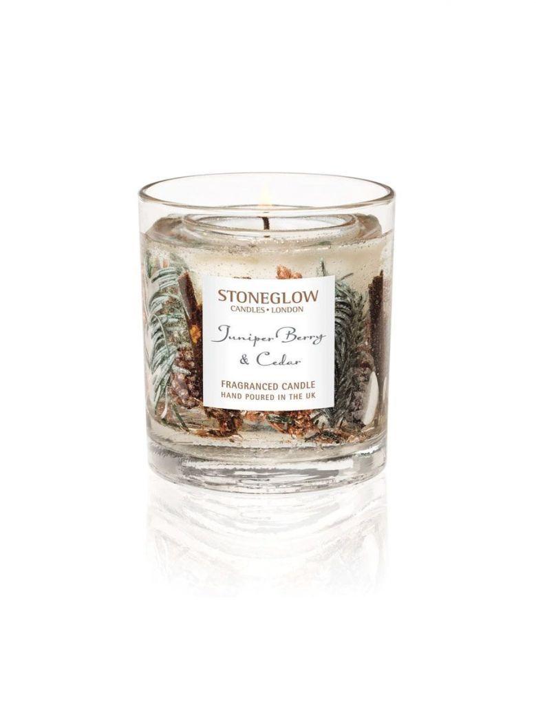 Stoneglow Seasonal Collection Juniper Berry & Cedar Natural Wax Tumbler