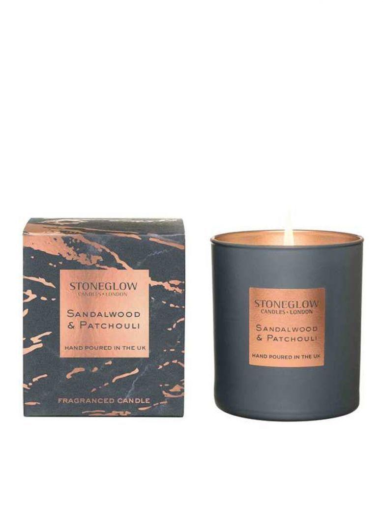 Stoneglow Luna Sandalwood and Patchouli Tumbler Candle