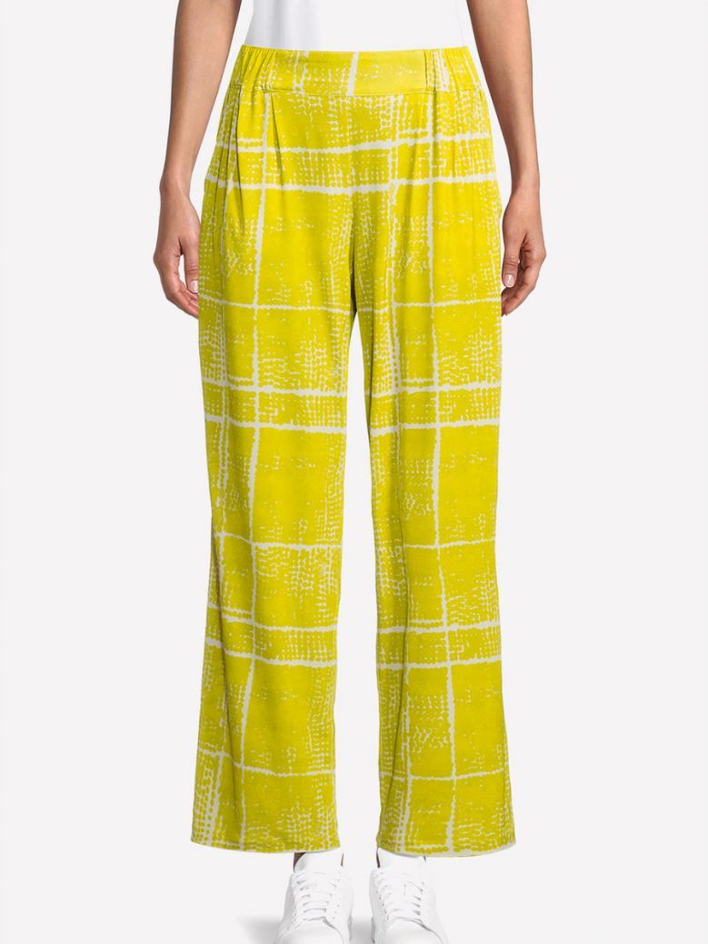 Betty Barclay Green Print Trousers