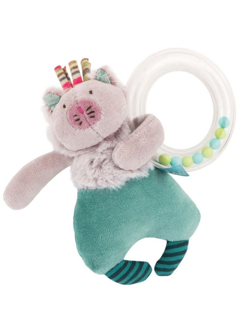 Moulin Roty Les Pachats Rattle Ball Activity Cat