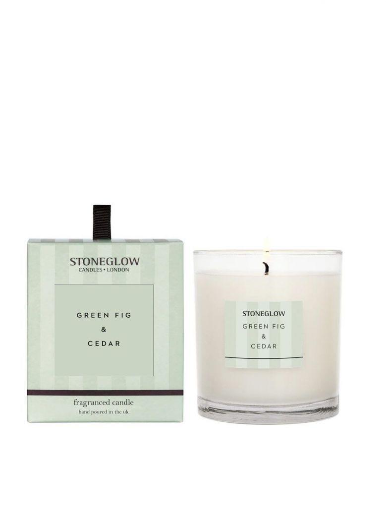 Stoneglow Modern Classics Green Fig & Cedar Tumbler