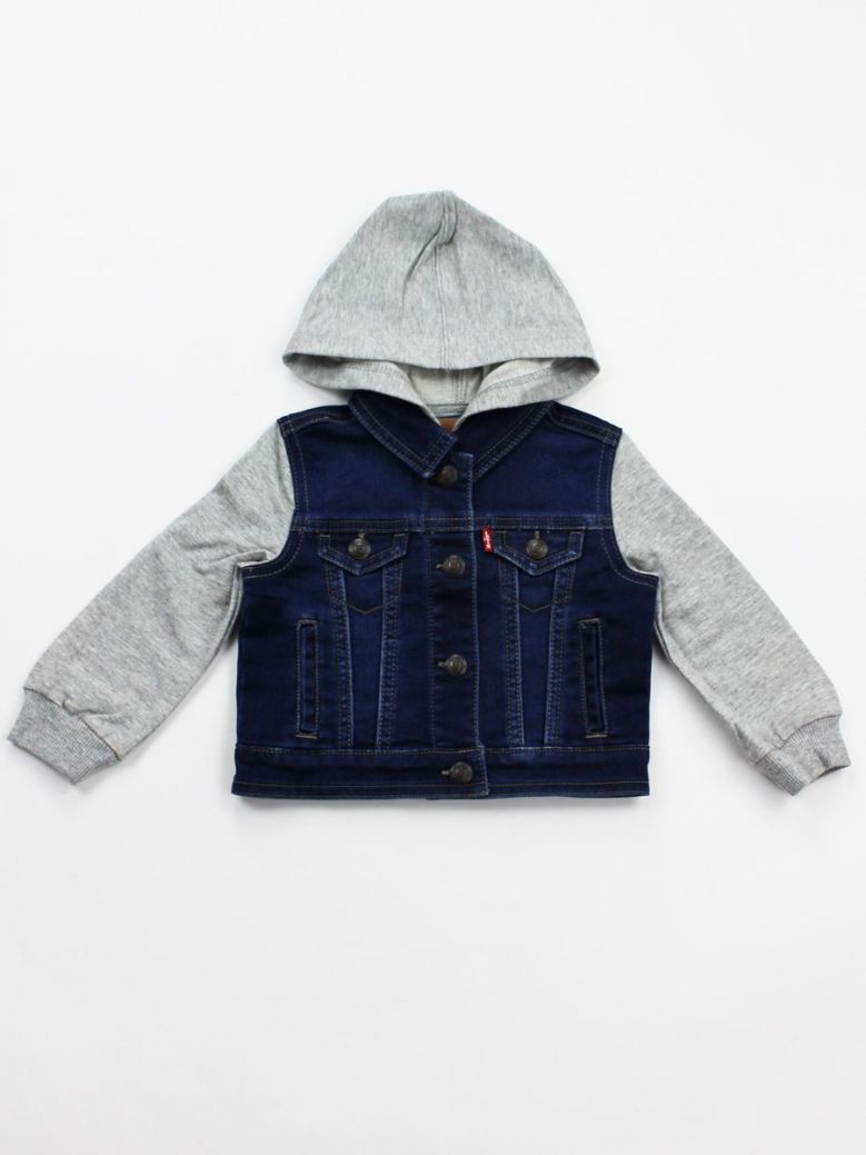 Levis All-In-One Denim Jacket with Hoody