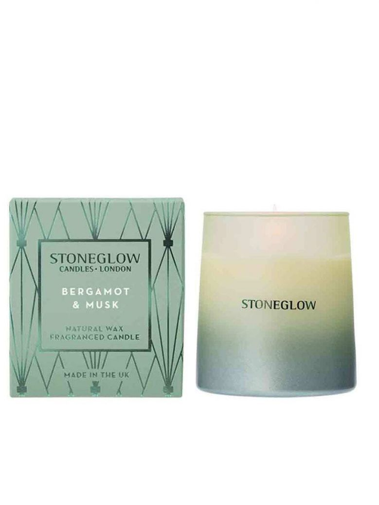 Stoneglow Geometric - NEW Bergamot & Musk Tumbler