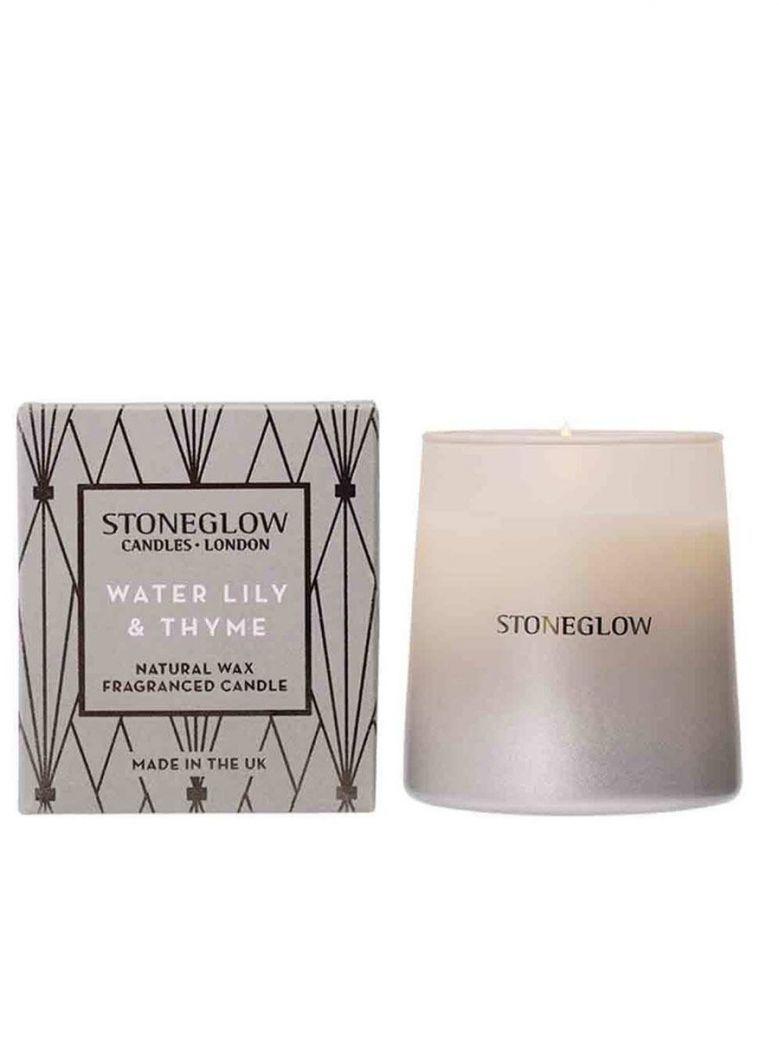 Stoneglow Geometric - NEW Water Lily & Thyme Tumbler