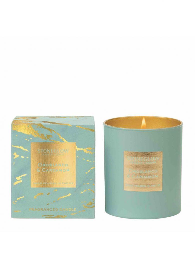 Stoneglow Luna Oroblanco and Cardamom Tumbler Candle