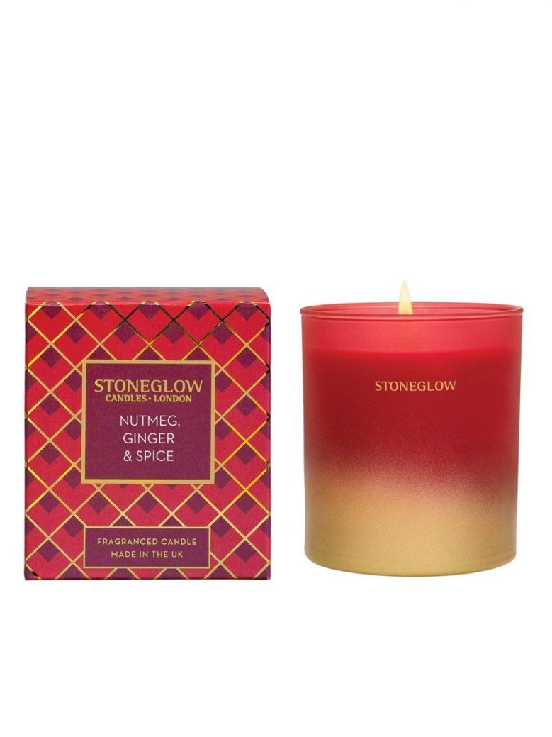 Stoneglow Nutmeg Ginger and Spice Fragranced Candle