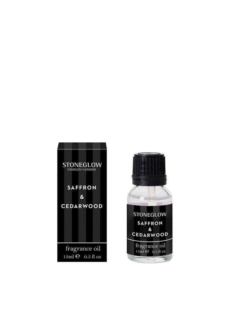 Stoneglow Modern Classics Limited Edition - Saffron & Cedarwood 15ml Fragrance Oil