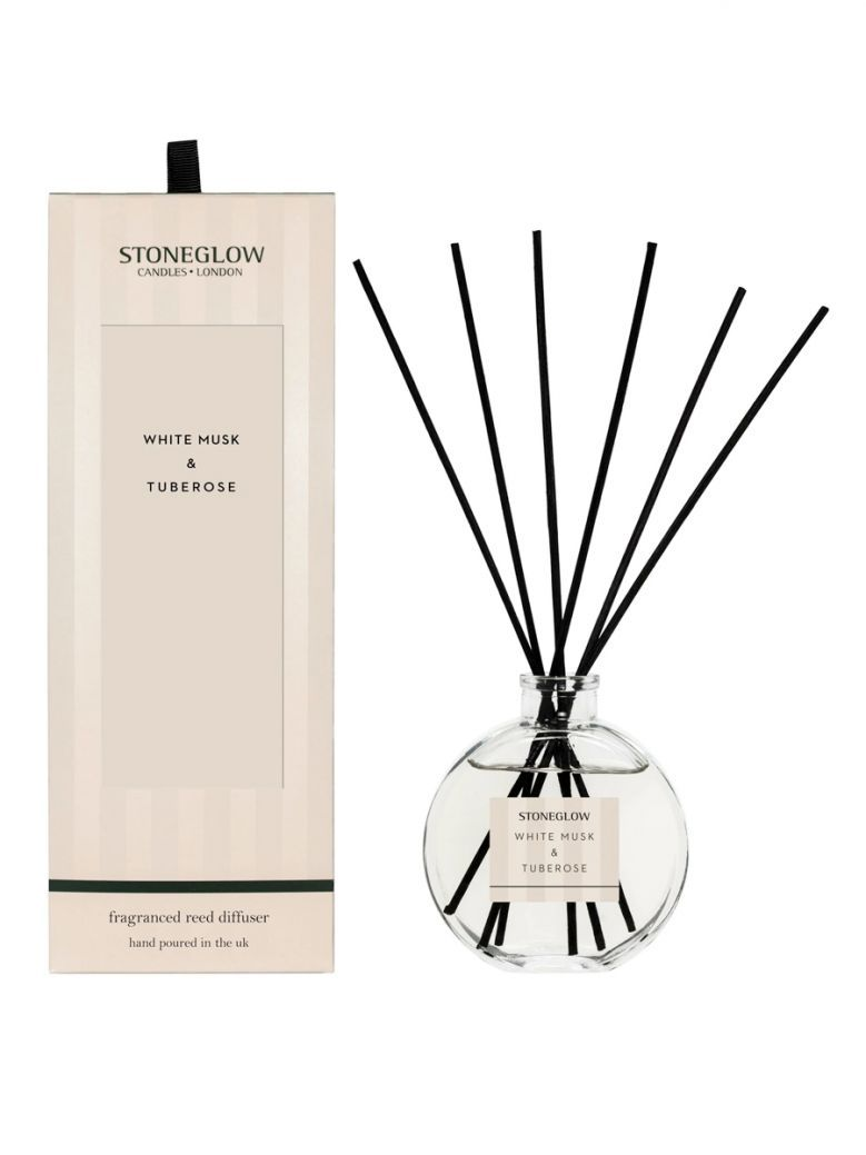 Stoneglow Modern Classic White Musk and Tuberose Reed Diffuser