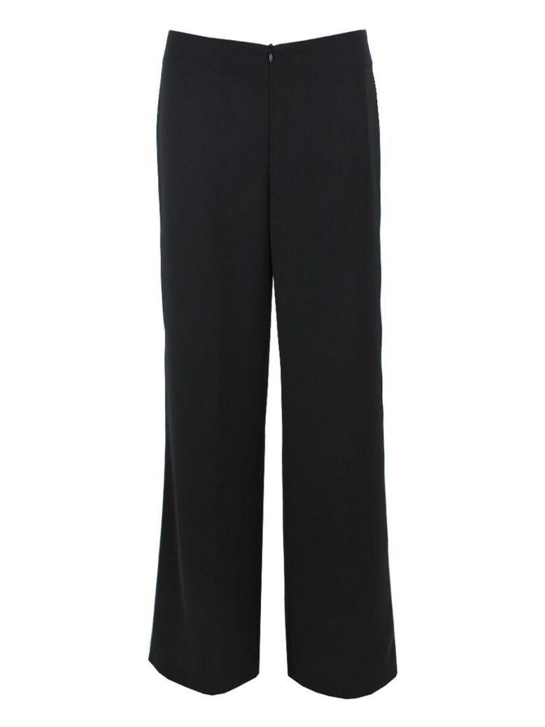 Tia Black Stripe Leg Trousers