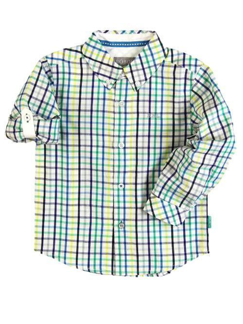 Boboli Citrus Checked Shirt