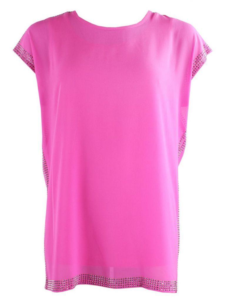 Tia Pink Embellished Tunic