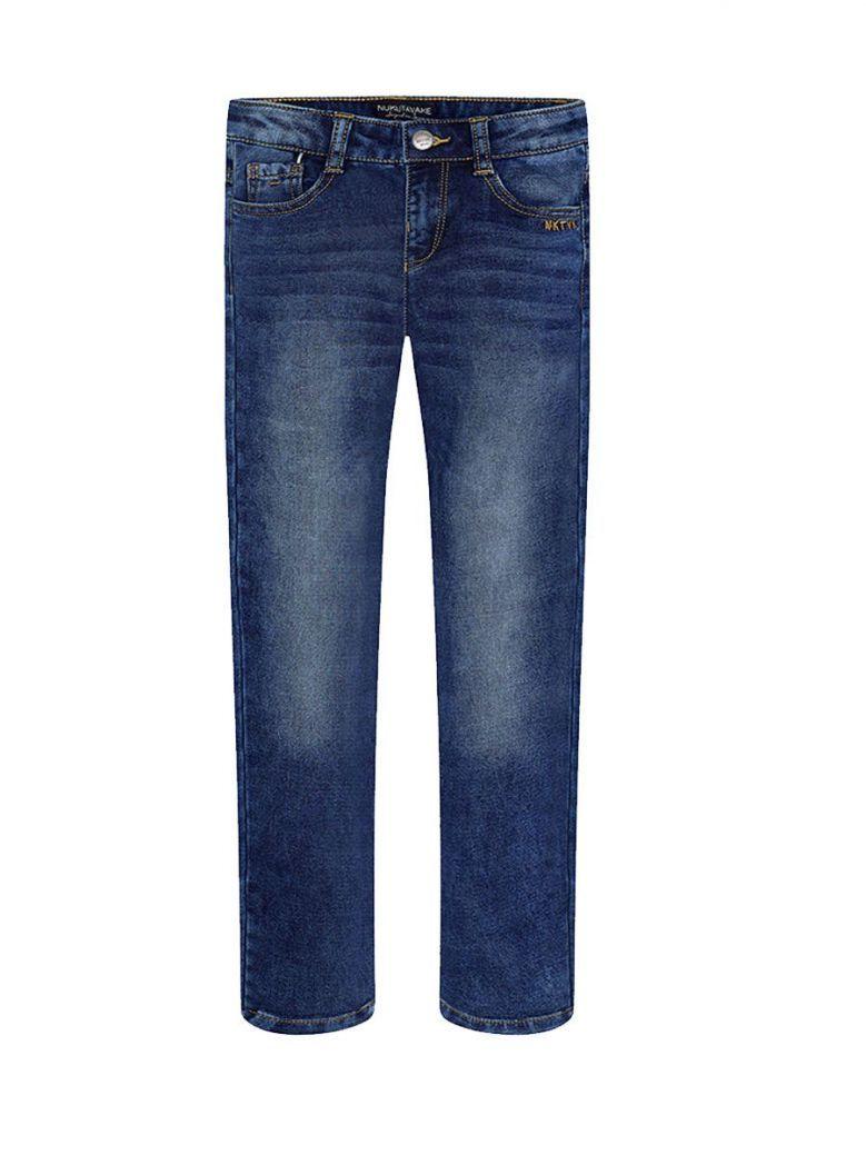 Mayoral Faded Straight Leg Denim Jeans