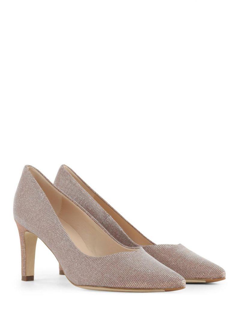 Peter Kaiser Pink Shimmer Court Shoe