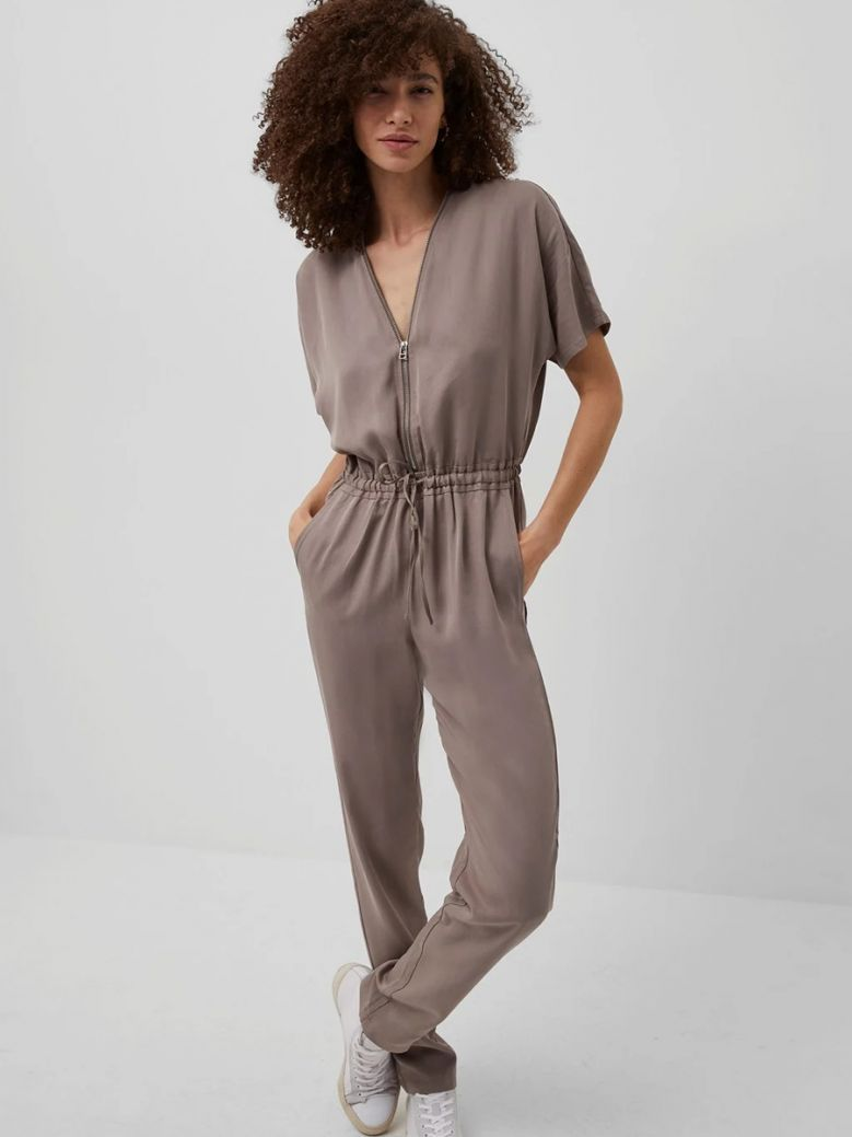 French Connection Walnut Airietta Lyocell Jumpsuit