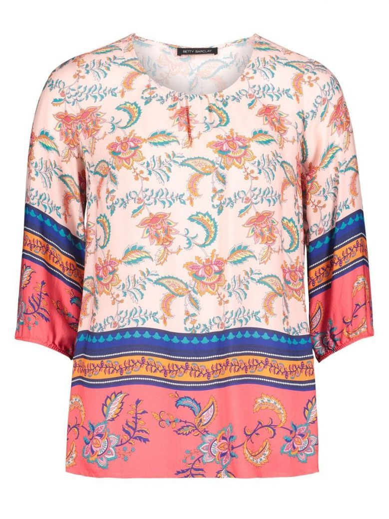 Betty Barclay Pink Printed Top