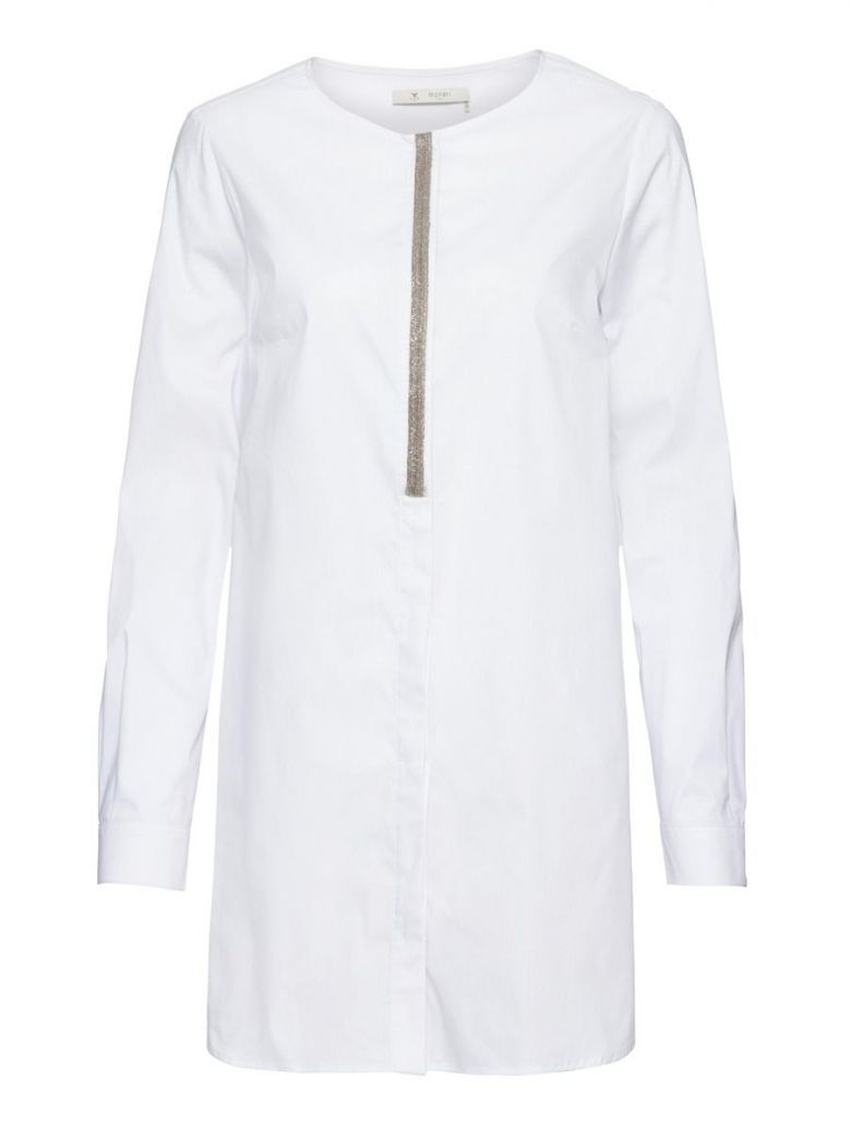 Monari White Bead Detail Tunic