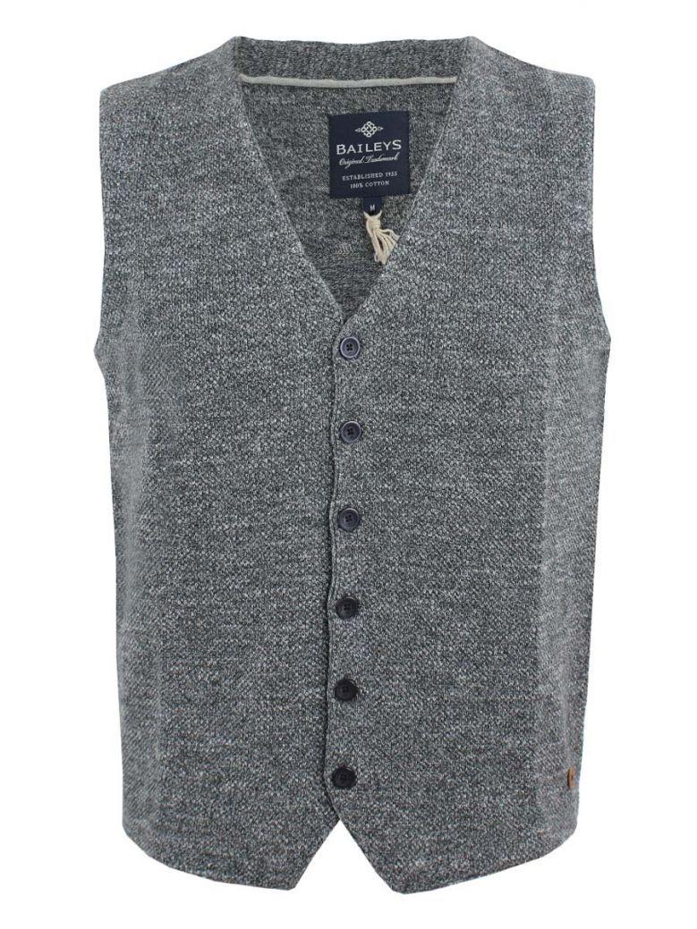 Baileys Grey Knit Gilet