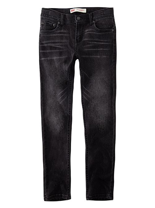 Levis Faded Black 519 Extreme Skinny Jeans