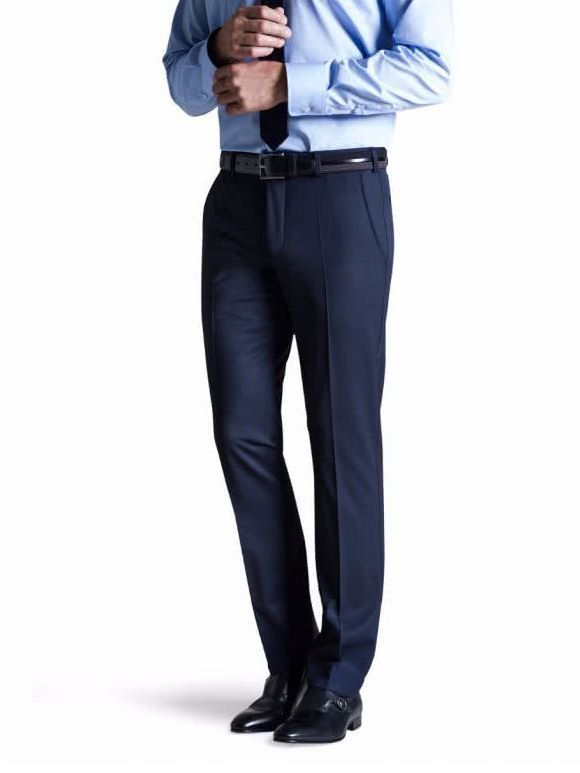 Meyer Navy Bonn Trousers