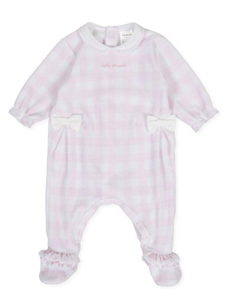 Tutto Piccolo Pink Check Babygrow